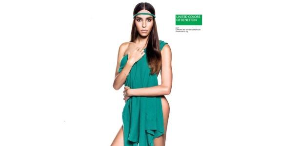 A modelo transexual Lea T. é um dos rostos da campanha de Verão 2013 da Benetton - Divulgação