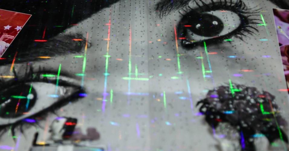 Álbum com lâmina com efeito 3D - Expo Noivas & Festas 2013