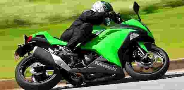 Kawasaki Ninja 300 custa a partir de R$ 17.990, mas chega a ser vendida por mais de R$ 20 mil - Doni Castilho/Infomoto