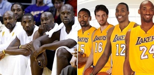 Getty Image e Divulgação/Lakers