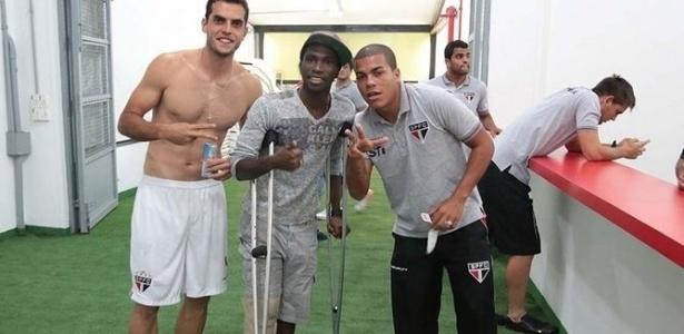 Negueba viu dos vestiários sua equipe vencer o Bolívar por 5 a 0