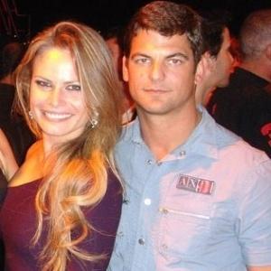 25.jan.2013 - Natalia Casassola e o namorado Edoardo Hauer