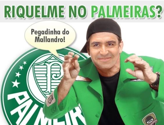 Corneta FC: Riquelme no Palmeiras era pegadinha do Mallandro