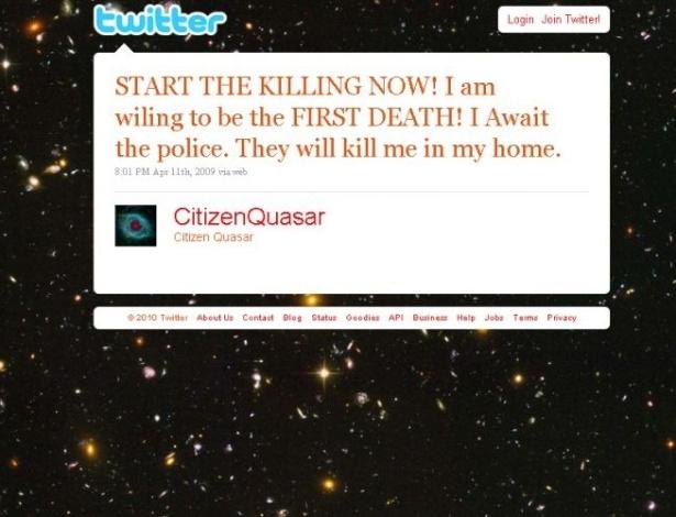 Crime e Castigo: mensagens comprometedoras no Twitter e Facebook