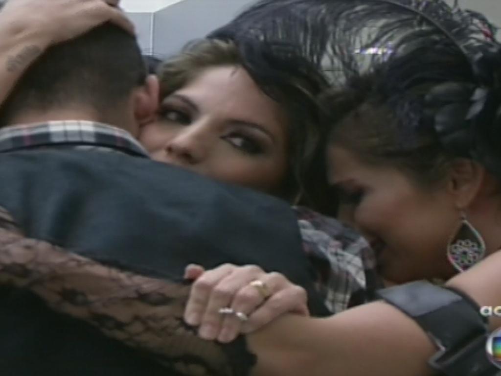26.jan.2013 - Anamara é escolhida pelo público para sair do