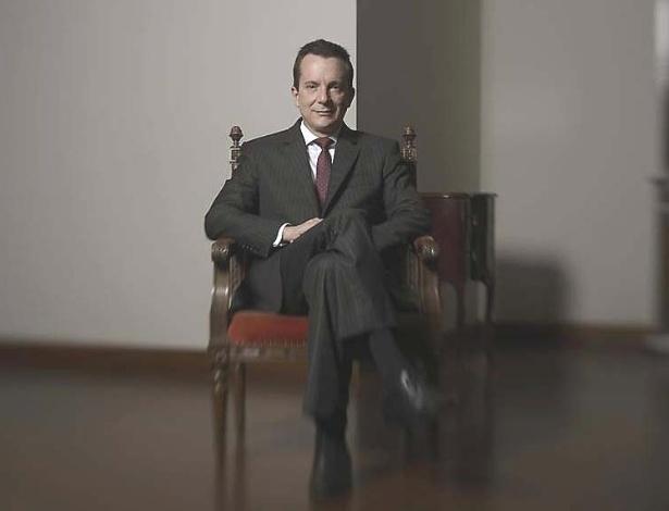 27.jan.2013 - Celso Russomanno (PRB), 56, em seu escritório utilizando durante a campanha eleitoral passada, no Planalto Paulista, zona sul