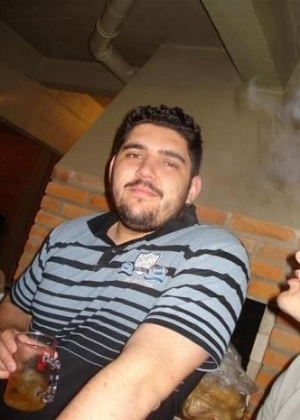 27.jan.2013 - Vinicius Montardo Rosado era professor de educação física em Santa Maria. Ele foi uma das vítimas do incêndio que matou mais de 230 pessoas, em sua maioria jovens, na boate Kiss, em Santa Maria (RS)