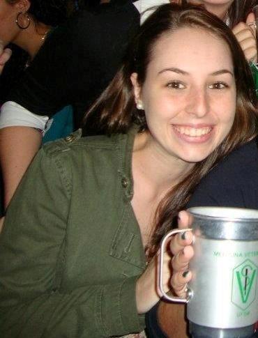 28.jan.2013 - Ana Paula Anibaletto estudava Veterinária na UFSM (Universidade Federal de Santa Maria)