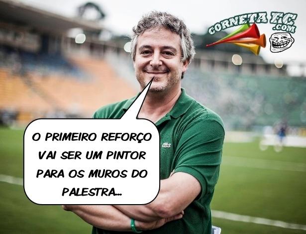 Corneta FC: Prevendo vexames, Palmeiras pensa em reforços