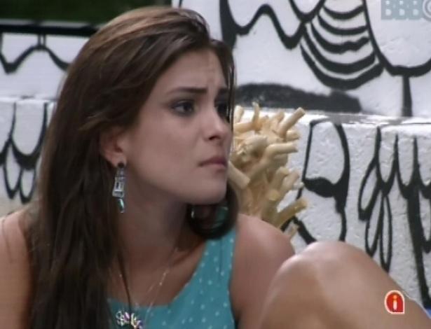 Marcello aconselha Kamilla sobre o jogo