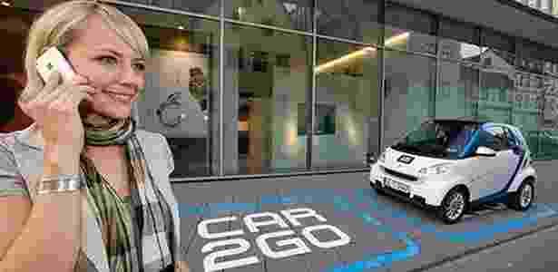 Projeto Car2go, que envolve o pequeno Smart Fortwo, deu certo na Alemanha, mas falhou na França - Divulgação