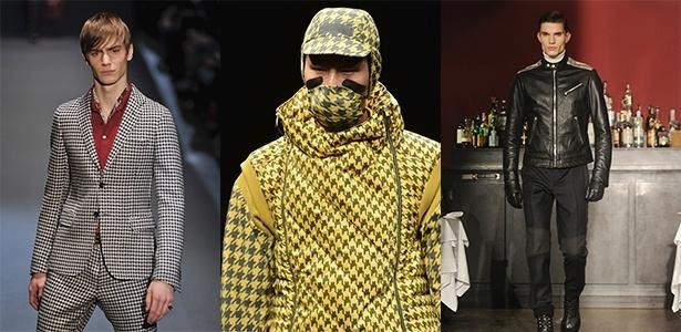 Nos desfiles de Inverno 2013, um dos recursos usado pelas marcas foi dar uma nova cara para os ternos e um ar mais elegante para as peças casuais e esportivas - Getty Images