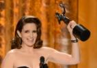 """""""De jeito nenhum"""", diz Tina Fey sobre apresentar o Oscar 2014 - Getty Images"""