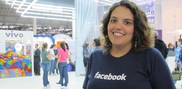 Carolina Verdelho, recrutadora do Facebook, afirma que a empresa não olha os perfis dos candidatos na própria rede social ao selecioná-los para vagas - Ana Ikeda/UOL