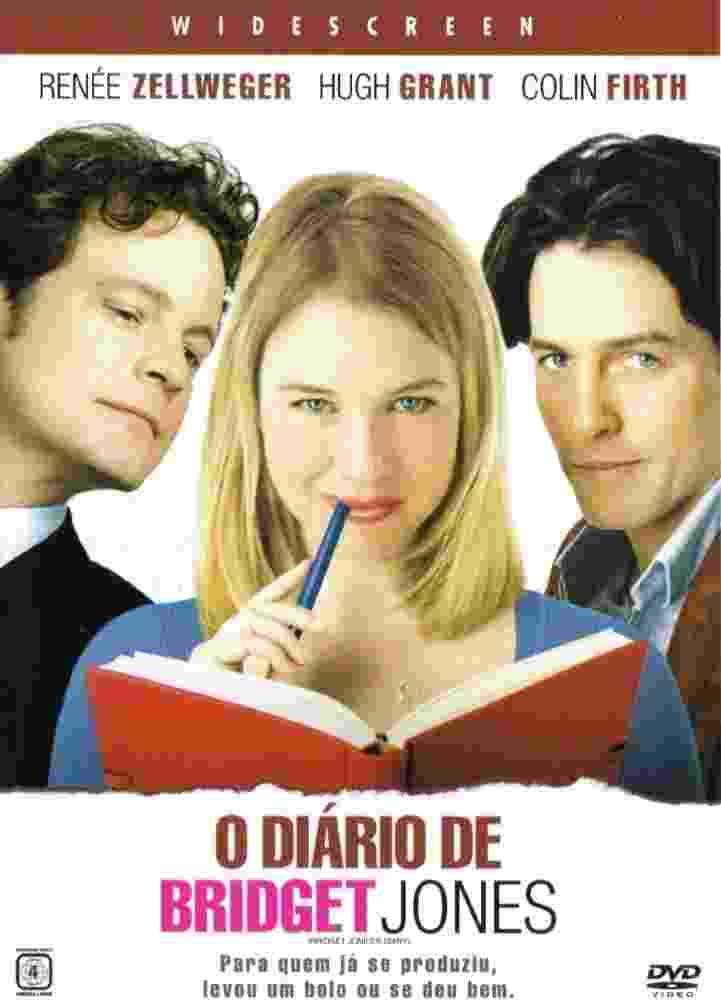 """Livremente inspirada em """"Orgulho e Preconceito"""", a comédia britânica """"O Diário de Bridget Jones"""", na qual Colin Firth também encarna um advogado de nome Darcy, só que Mark Darcy - Reprodução"""