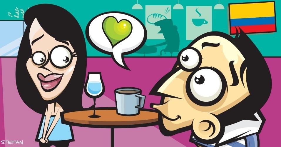 """Na Colômbia, nunca se dirija aos atendentes de cafés ou mercados como """"moça"""" ou """"moço"""". Em espanhol, isso é o mesmo que dizer """"amante"""""""