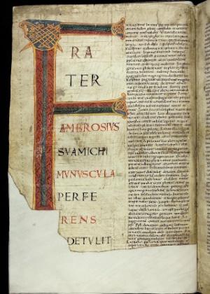 Página de um dos manuscritos disponibilizados online pela Biblioteca do Vaticano - Reprodução/Biblioteca Apostólica Vaticana