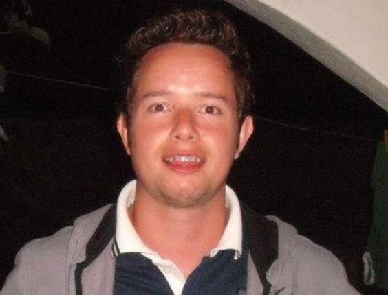 30.jan.2013- Gustavo Marques Gonçalves, 25, que teve morte encefálica confirmada, ficou com mais de 70% do corpo queimado, após o incêndio que atingiu a boate Kiss, em Santa Maria (RS), na madrugada de domingo (27)
