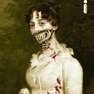 """Capa do livro """"Orgulho e Preconceito e Zumbis"""", versão com mortos-vivos para o clássico de Jane Austen - Divulgação"""