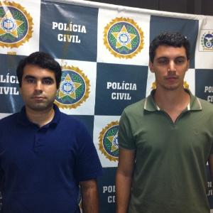 """Fábio Vasconcelos, 37, e Ailton Aires Araújo Júnior, 39, conhecido como """"Ninho"""", participavam de uma seita que pregava o fim do mundo em 2012"""