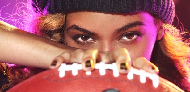 A cantora Beyoncé, que vai cantar no campeonato Superbowl