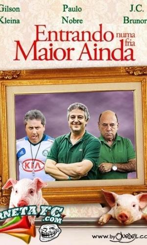 Corneta FC: Nova diretoria do Palmeiras estrela filme