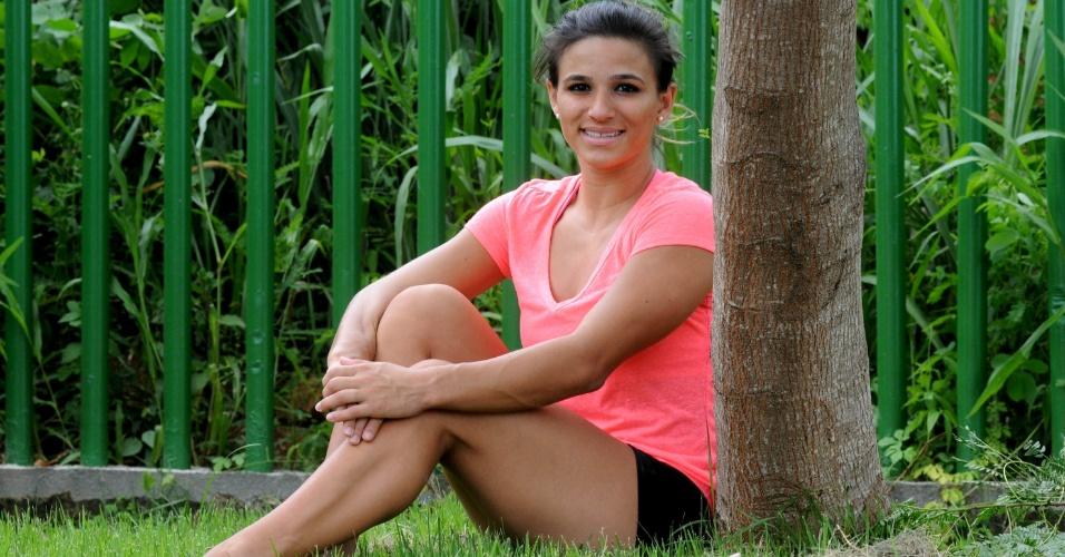 """""""É muito legal você ter esse lado 'mulher'. As pessoas esquecem que antes de ser atleta, sou uma mulher também"""", afirmou Jade"""