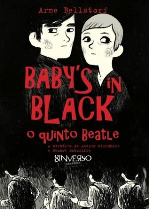 """Capa da graphic novel """"Baby´s in Black - O Quinto Beatle"""", que conta a história de Stuart Sutcliffe - Divulgação/8Inverso Graphics"""