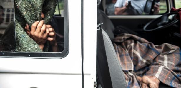 Cracolândia em SP: usuários da droga recolhidos por organização conveniada com o governo do Estado - Marcelo Camargo/ABr