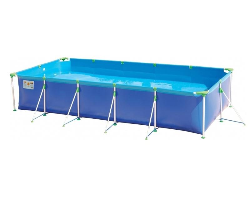 Disponível em diversos tamanhos, a piscina Premium Mor é confeccionada com PVC de tripla camada (duas lâminas de PVC com uma trama de poliéster entre elas). Possui cantoneiras que conferem maior robustez, além de válvulas para encaixe de filtro e deságue. Na Kanui (www.kanui.com.br) o modelo de 5 mil litros sai por R$ 649,90 (+ frete)