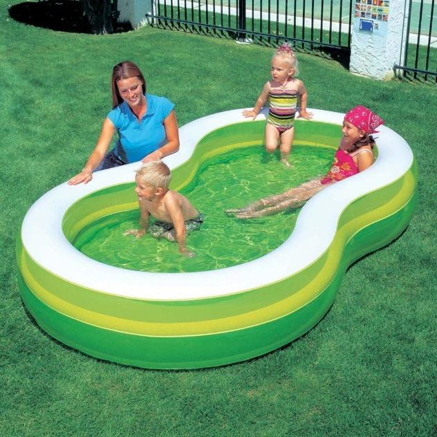 Em PVC, a piscina inflável Bestway Green tem 790 litros de capacidade. Com válvula para esvaziar, tem borda inflável e é indicada para crianças com mais de 3 anos. Nas Casas Bahia (www.casasbahia.com.br) custa R$ 85,41 (+ frete)
