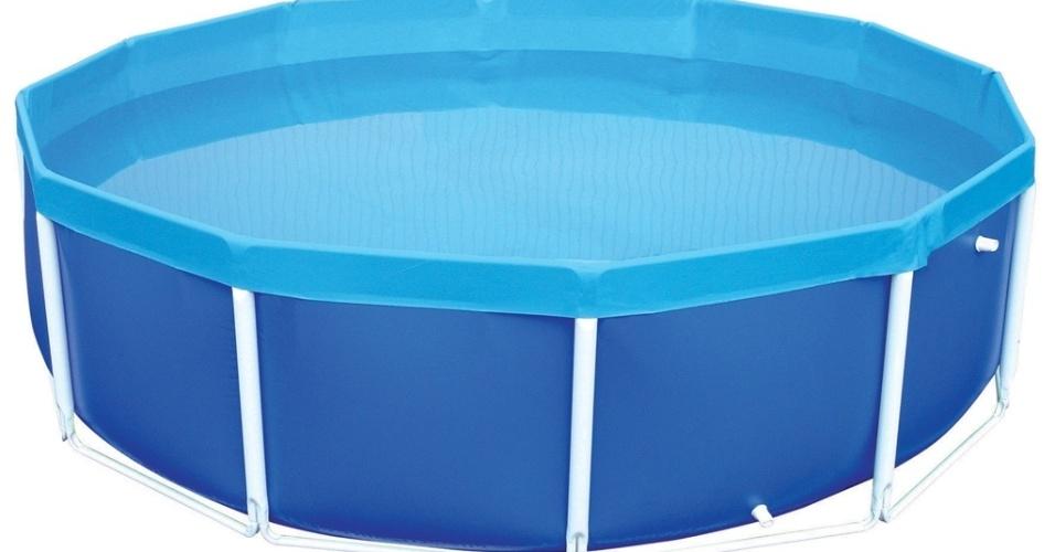 Saiba como escolher e manter piscinas desmont veis for Piscinas cuadradas de plastico