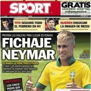 Jornal espanhol garante acerto de Neymar com Barcelona