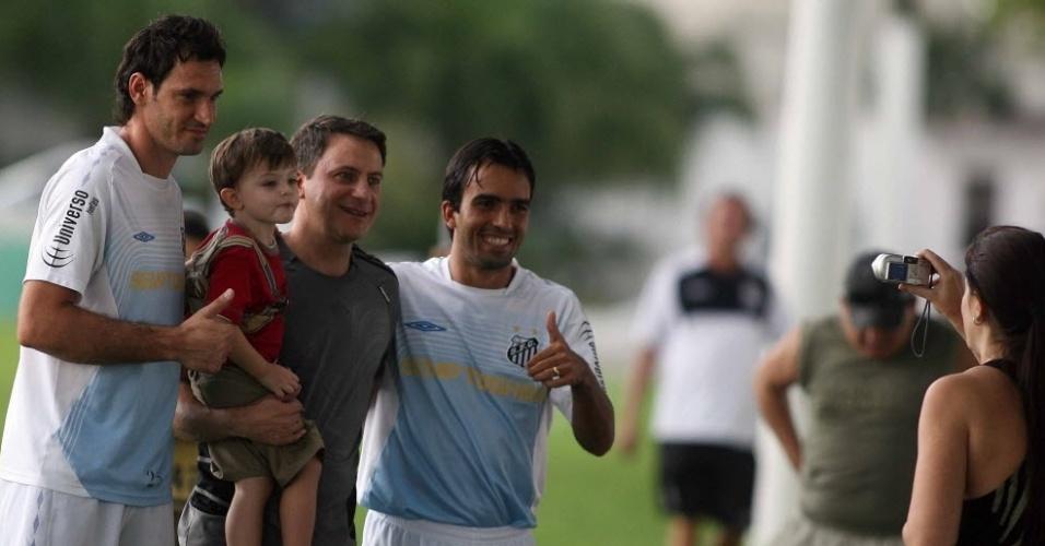 Roberto Brum nos tempos de Santos; jogador virou pastor no Rio