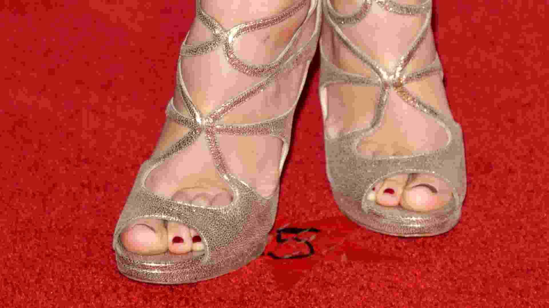 Sapatos usados por Taylor Swift - Gtres