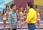 """""""Eu estava lá para comunicar sobre homofobia, arte, cultura"""", diz Aslan - Reprodução/Globo"""