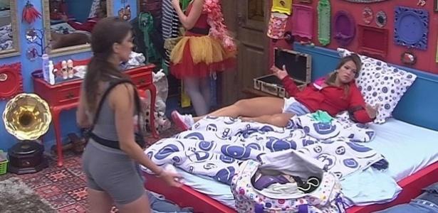 03.fev.2013 - Fani diz que é difícil conviver com Natália e Anamara