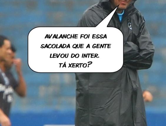 Corneta FC: Luxemburgo explica qual é a verdadeira avalanche para o Grêmio