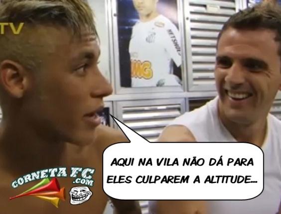 Corneta FC: São Paulo perde na Vila e é cornetado por Neymar