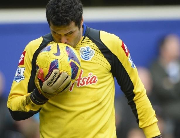 Julio Cesar vive um bom momento no QPR