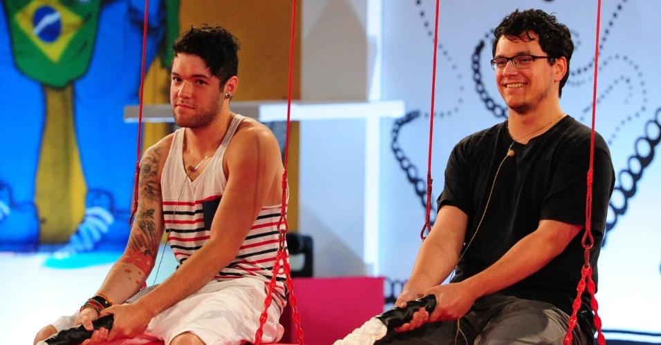 31.jan.2013 - Ivan e Nasser permanecem na disputa pela liderança
