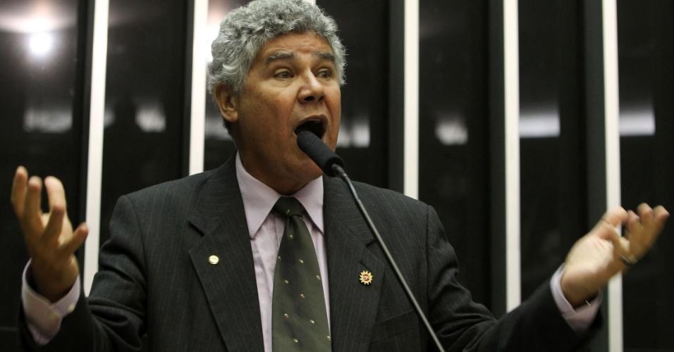 4.fev.2013 - Deputado Chico Alencar, candidato do PSOL à presidência da Câmara dos Deputados