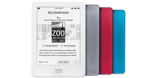 Kobo Glo é vendido no Brasil pela Livraria Cultura por R$ 450; e-reader tem sistema de iluminação  - Divulgação