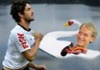 Buemba! Pato joga e Ganso afoga! - Arte UOL
