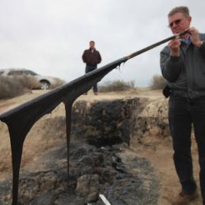 Exploração de xisto por meio de fratura hidráulica na Califórnia - Jim Wilson/The New York Times
