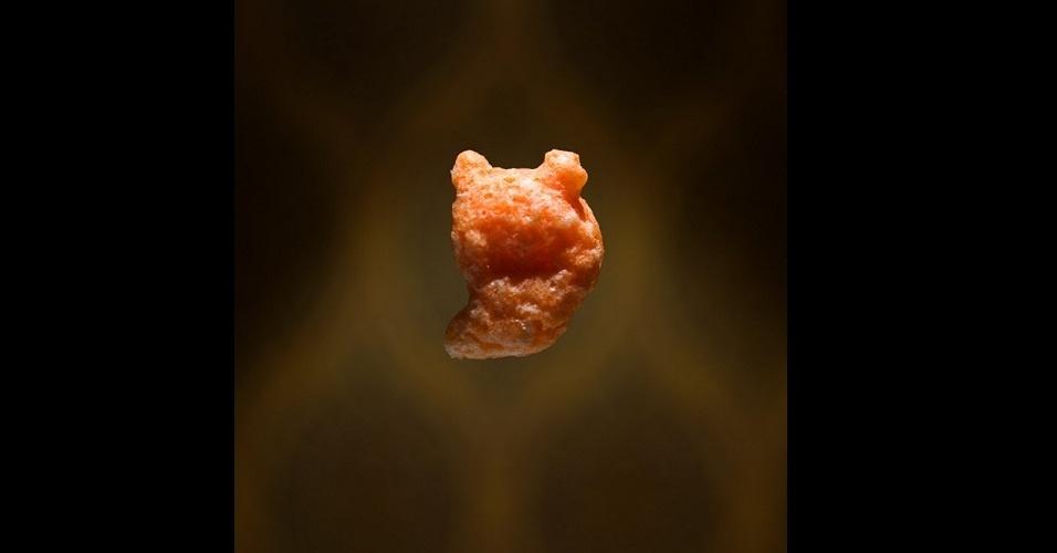 6.fev.2013 - Cerealism, parte de trabalho do fotógrafo americano Ernie Button, que usa cereais para recriar lugares e objetos