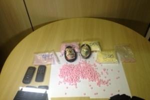 Polícia Federal apreendeu 2.000 comprimidos de ecstasy durante operação em Curitiba