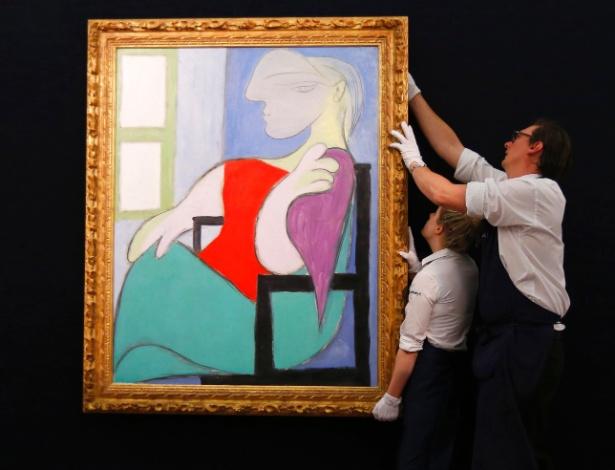 """""""Mulher sentada perto de uma janela"""", de Picasso, é vendido por US$ 45 milhões - Reuters"""