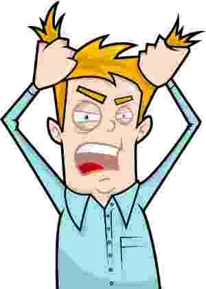 Não conseguir controlar suas reações diante de frustrações pode trazer consequências graves - Thinkstock