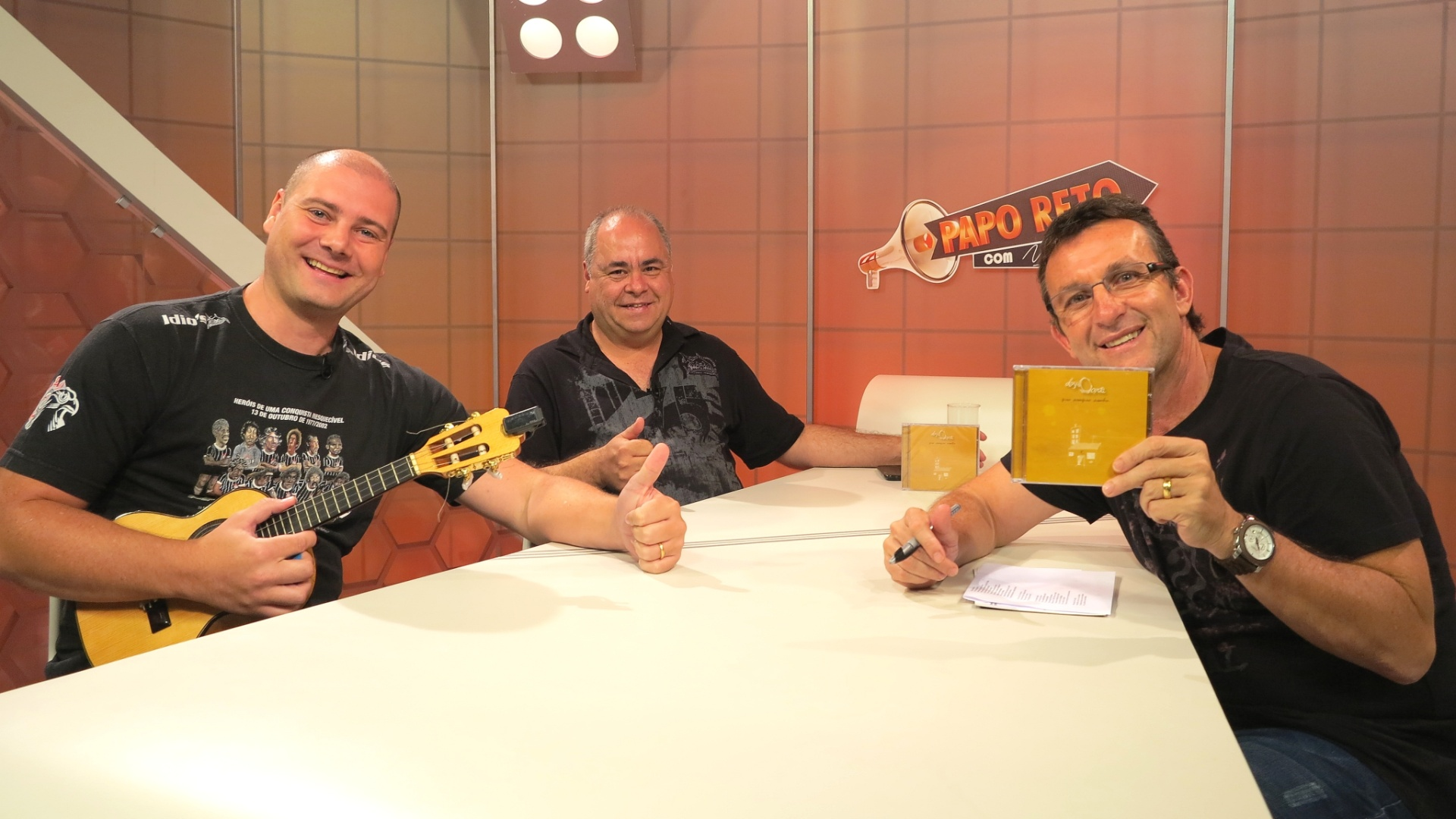 Alemão do Cavaco, da Mangueira, e Ernesto Teixeira, da Gaviões da Fiel, são convidados do